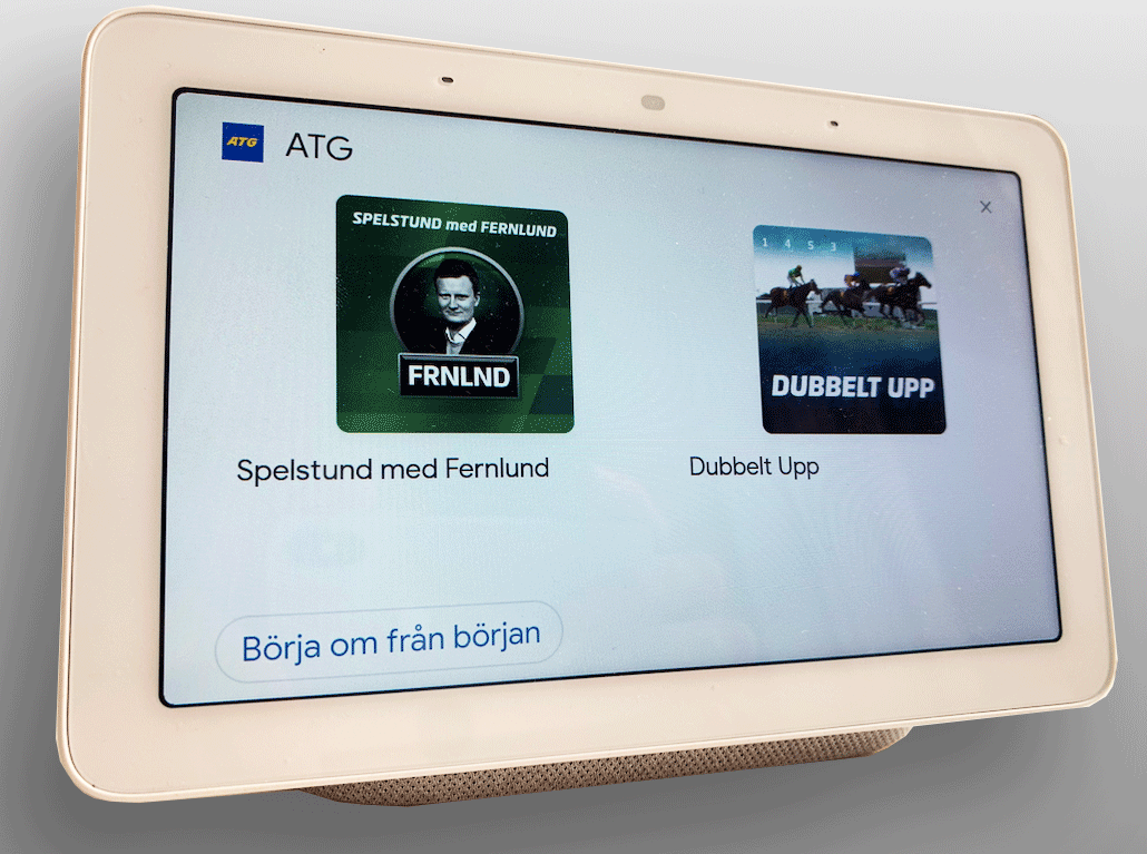 Launching: ATG Voice Assistant – fast results and expert tips on horse racing