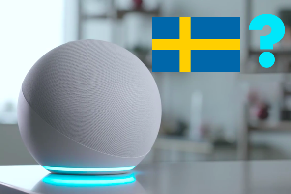 Amazon Alexa in Swedish?