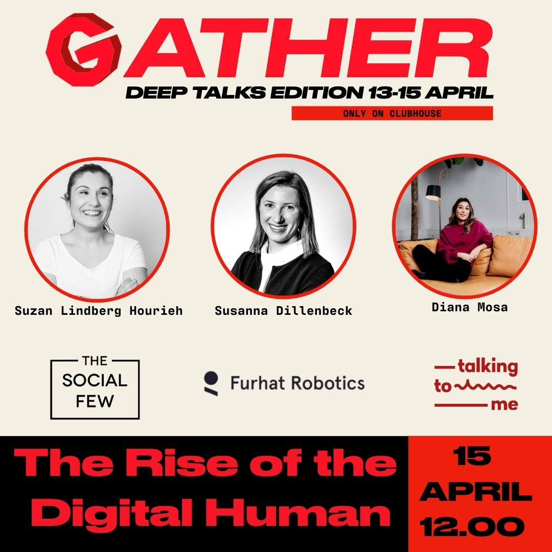 GATHER DEEP TALKS 15TH OF APRIL